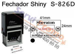 Sello Fechador Shiny S 826D